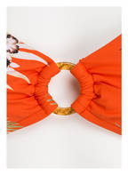 SEAFOLLY Bralette-Bikini-Top OCEAN ALLEY , Farbe: ORANGE/ WEISS/ GRÜN (Bild 1)
