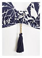 watercult Bügel-Bikini-Top CLUB COCO, Farbe: NAVY/ WEISS (Bild 1)