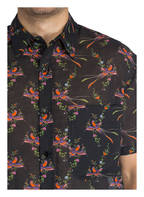 STELLA McCARTNEY SWIMWEAR Hemd Regular Fit, Farbe: SCHWARZ/ LILA/ GRÜN (Bild 1)