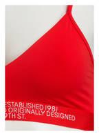 Calvin Klein Bustier STATEMENT 1981, Farbe: ROT (Bild 1)