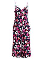 Calvin Klein Lounge-Hose, Farbe: GRAU/ PINK (Bild 1)