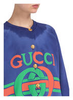 GUCCI Sweat-Blouson, Farbe: BLAU (Bild 1)