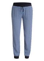 Marc O'Polo DENIM Sweatpants, Farbe: DUNKELBLAU/ BLAU/ WEISS (Bild 1)