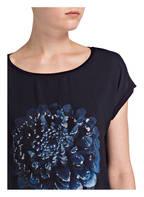 s.Oliver BLACK LABEL Blusenshirt, Farbe: DUNKELBLAU (Bild 1)