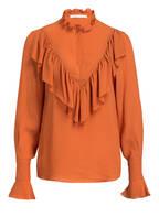SEE BY CHLOÉ Bluse mit Seidenanteil , Farbe: ORANGE (Bild 1)
