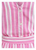 TOM TAILOR Kleid, Farbe: WEISS/ PINK GESTREIFT (Bild 1)