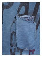 KEY LARGO T-Shirt ACHI, Farbe: BLAU/ WEISS (Bild 1)