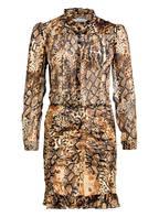 ba&sh Kleid RACKEL, Farbe: BEIGE/ BRAUN  (Bild 1)
