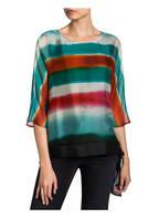Phase Eight Blusenshirt AYCA aus Seide , Farbe: GRÜN/ ORANGE/ PINK (Bild 1)