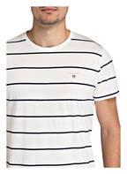 GANT T-Shirt BRETON, Farbe: WEISS/SCHWARZ (Bild 1)