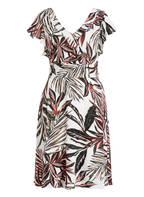 s.Oliver BLACK LABEL Kleid , Farbe: WEISS/ SCHWARZ/ GRÜN (Bild 1)