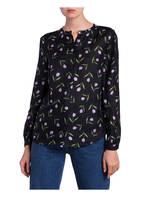 SET Bluse, Farbe: SCHWARZ/ LILA/ GRÜN (Bild 1)