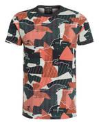 SCOTCH & SODA T-Shirt , Farbe: DUNKELGRÜN/ ORANGE/ DUNKELBLAU (Bild 1)