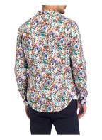 Q1 Manufaktur Hemd STEVE Extra Slim Fit, Farbe: CREME/ ROT/ BLAU (Bild 1)
