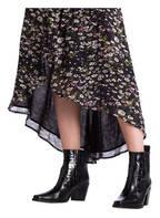 GANNI Wickelkleid, Farbe: SCHWARZ/ DUNKELBLAU/ OLIV (Bild 1)