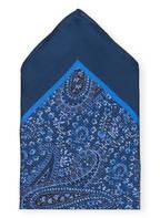 Ermenegildo Zegna Einstecktuch, Farbe: BLAU (Bild 1)
