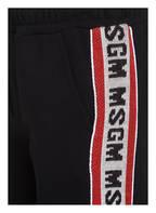 MSGM KIDS Sweatpants mit Galonstreifen , Farbe: SCHWARZ (Bild 1)