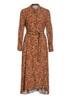 LUISA CERANO Kleid, Farbe: BEIGE/ ORANGE/ HELLBRAUN (Bild 1)