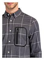 BOGNER Flanellhemd CAHIR Regular Fit, Farbe: GRAU/ SCHWARZ/ WEISS (Bild 1)
