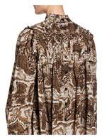 GANNI Kleid , Farbe: BEIGE/ BRAUN/ DUNKELBRAUN (Bild 1)