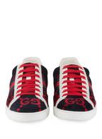 GUCCI Sneaker ACE, Farbe: BLAU/ ROT (Bild 1)