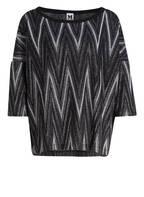 M MISSONI Pullover, Farbe: SCHWARZ/ SILBER (Bild 1)