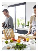 ZWILLING Kochmesser , Farbe: SCHWARZ/ SILBER (Bild 1)