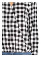 OPUS Bluse FROSE, Farbe: SCHWARZ/ WEISS (Bild 1)