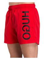 HUGO Badeshorts SABA , Farbe: ROT (Bild 1)