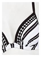 watercult Bügel-Bikini-Top SEASIDE STRIPE, Farbe: WEISS/ SCHWARZ (Bild 1)