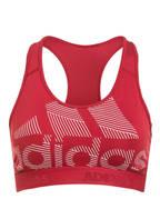 adidas Sport-BH DON'T REST ALPHASKIN BADGE OF SPORT, Farbe: DUNKELROT (Bild 1)