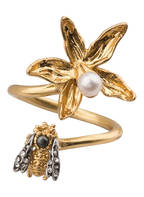 TORY BURCH Ring , Farbe: GOLD/ WEISS/ SILBER (Bild 1)