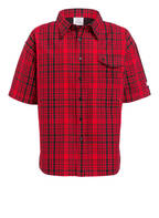VETEMENTS Oversized-Hemd Comfort Fit, Farbe: ROT/ SCHWARZ  (Bild 1)