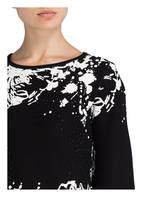 monari Pullover, Farbe: SCHWARZ/ WEISS (Bild 1)