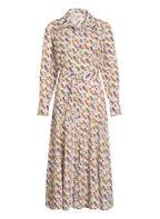 sandro Kleid, Farbe: ECRU/ GRÜN/ ROT (Bild 1)