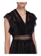 sandro Kleid, Farbe: SCHWARZ/ SILBER (Bild 1)