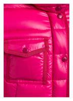 MONCLER Daunenjacke NEW ARMOISE mit Echtpelzbesatz, Farbe: PINK (Bild 1)