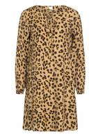 BOSS Kleid EFFEI mit Seide, Farbe: CAMEL/ SCHWARZ/ GELB (Bild 1)