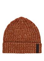 Ermenegildo Zegna Cashmere-Mütze, Farbe: DUNKELORANGE MELIERT (Bild 1)