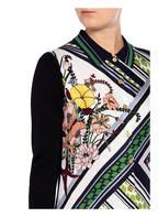TORY BURCH Hemdblusenkleid, Farbe: DUNKELBLAU/ WEISS/ GRÜN (Bild 1)