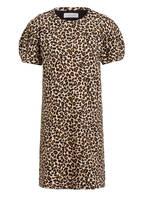 velvet Kleid JOLENE, Farbe: SCHWARZ/ BRAUN (Bild 1)