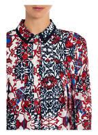 CLAUDIE PIERLOT Hemdblusenkleid RAMSES, Farbe: DUNKELBLAU/ WEISS/ ROT (Bild 1)