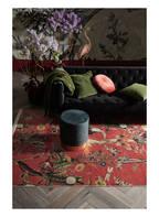 ESSENZA Samt-Pouf BORY, Farbe: PETROL (Bild 1)