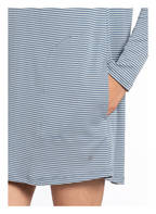 Marc O'Polo Nachthemd , Farbe: BLAUGRAU/ WEISS GESTREIFT (Bild 1)