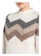 WOOLRICH Pullover FLAME, Farbe: CREME/ GRAU / HELLBRAUN (Bild 1)