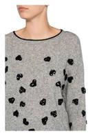 Princess GOES HOLLYWOOD Pullover, Farbe: HELLGRAU/ SCHWARZ (Bild 1)