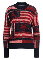 TOMMY JEANS Pullover AMERICA, Farbe: DUNKELBLAU/ ROT/ WEISS (Bild 1)