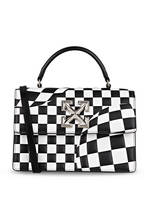 OFF-WHITE Handtasche 1.4 CHECKED JITNEY, Farbe: SCHWARZ/ WEISS (Bild 1)