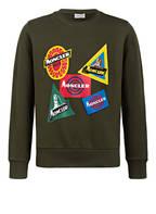 MONCLER Sweatshirt, Farbe: DUNKELGRÜN (Bild 1)