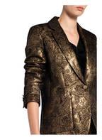 sandro Jacquard-Blazer, Farbe: GOLD (Bild 1)